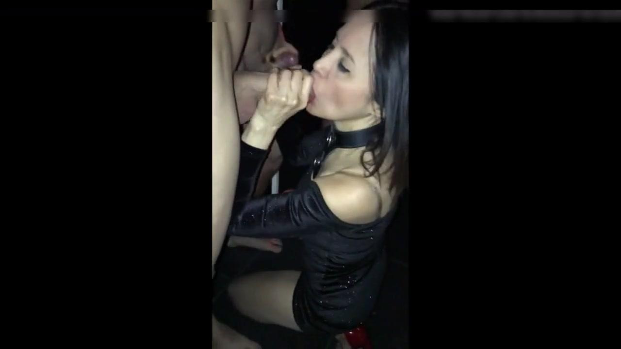 Slut Wife Blindfold Stranger
